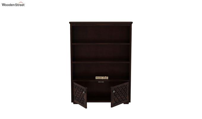 Cambrey Book Shelves (Walnut Finish)-5