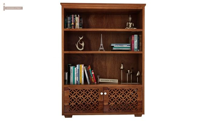Cambrey Book Shelves (Teak Finish)-4