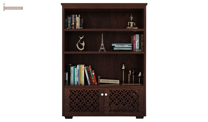 Cambrey Book Shelves (Walnut Finish)-2