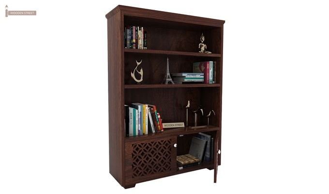 Cambrey Book Shelves (Walnut Finish)-3