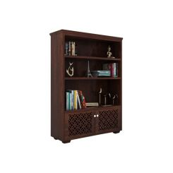 Cambrey Book Shelves (Walnut Finish)
