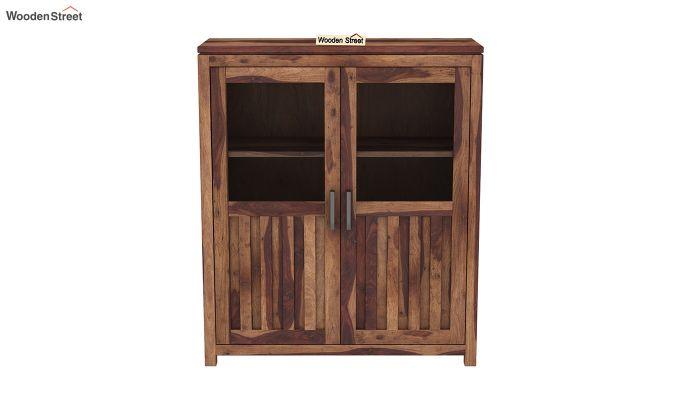 Carbo Bookshelf (Teak Finish)-3