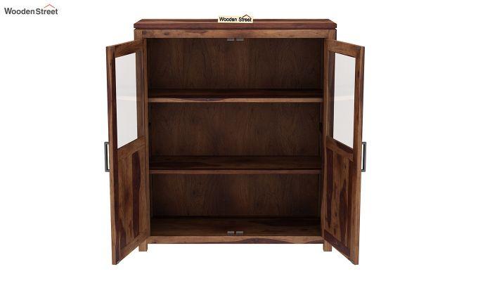 Carbo Bookshelf (Teak Finish)-4