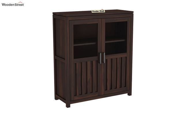 Carbo Bookshelf (Walnut Finish)-2