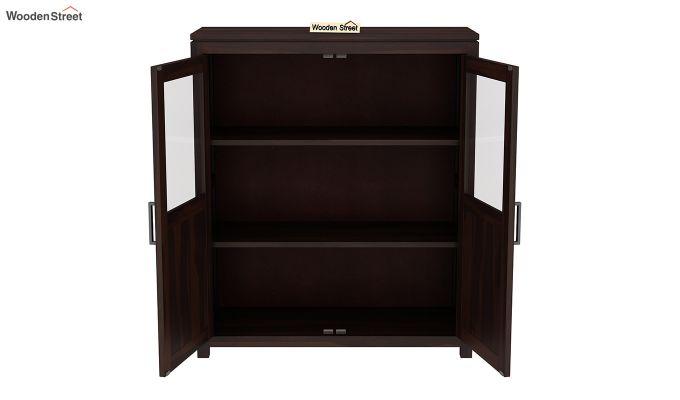Carbo Bookshelf (Walnut Finish)-4