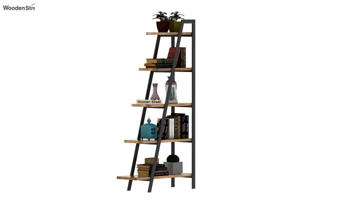 Carleson Loft BookShelf (Natural Finish)-2