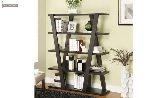 Cedric Bookshelf (Mahogany Finish)-1