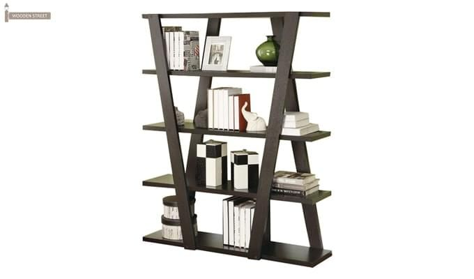 Cedric Bookshelf (Mahogany Finish)-2