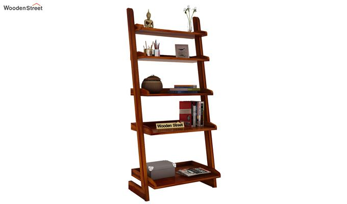 Celine Book Shelves (Honey Finish)-2