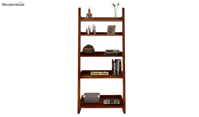 Celine Book Shelves (Honey Finish)-3