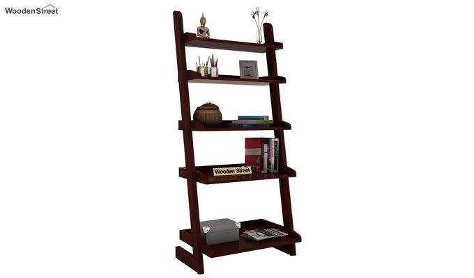 Celine Book Shelves (Mahogany Finish)-1