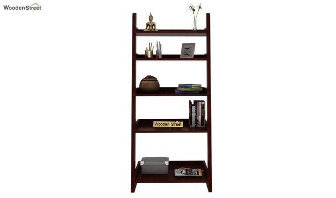 Celine Book Shelves (Mahogany Finish)-2