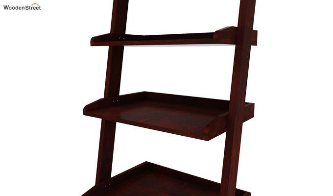 Celine Book Shelves (Mahogany Finish)-4