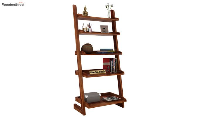 Celine Book Shelves (Teak Finish)-1