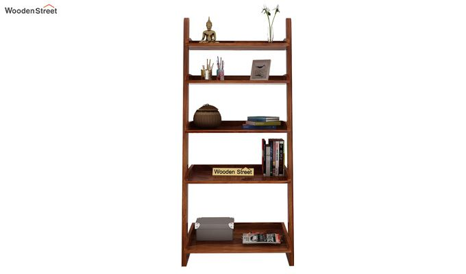 Celine Book Shelves (Teak Finish)-2
