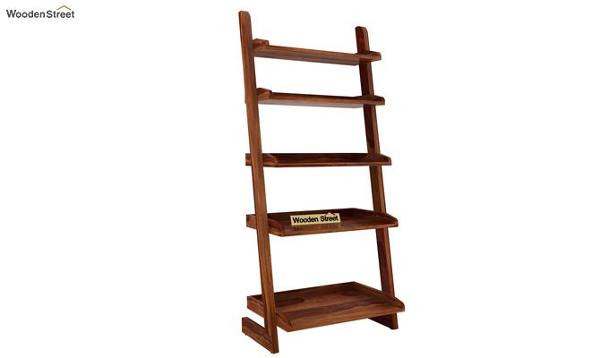 Celine Book Shelves (Teak Finish)-3
