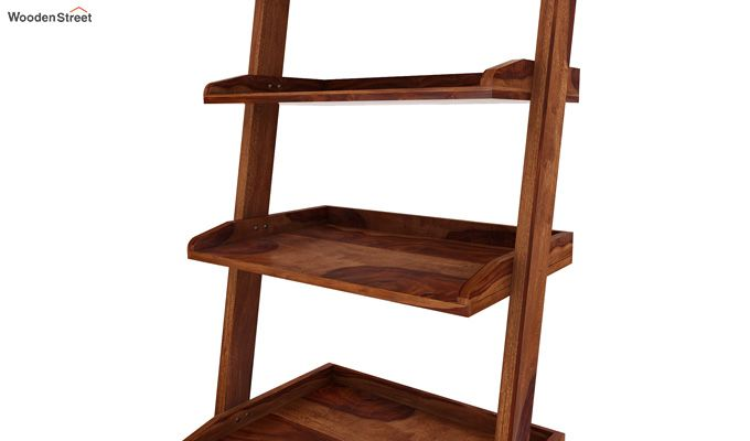 Celine Book Shelves (Teak Finish)-4