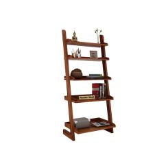 Celine Book Shelves (Teak Finish)