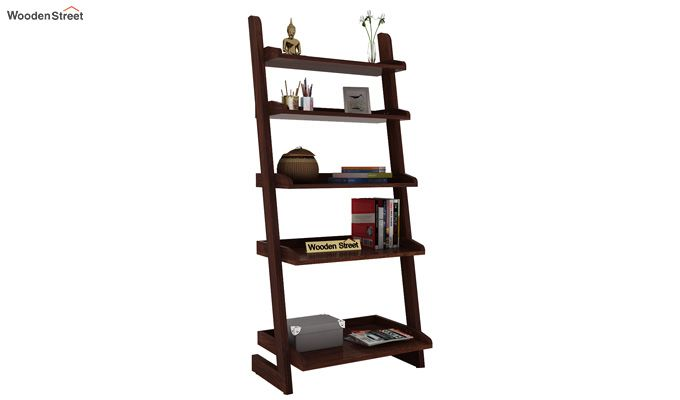 Celine Book Shelves (Walnut Finish)-1