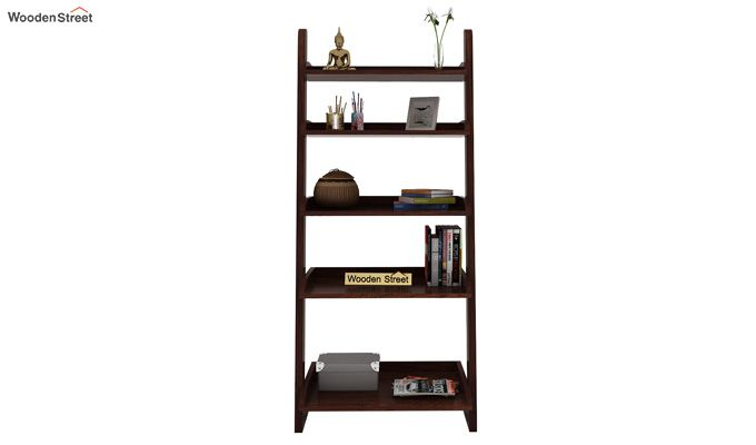 Celine Book Shelves (Walnut Finish)-2