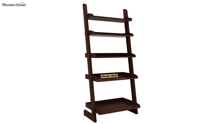 Celine Book Shelves (Walnut Finish)-3
