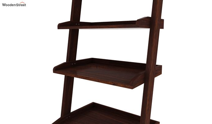 Celine Book Shelves (Walnut Finish)-4