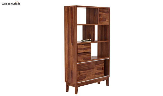 Chesny Bookshelf (Teak Finish)-3