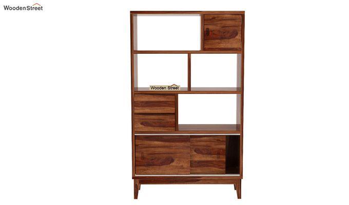 Chesny Bookshelf (Teak Finish)-4