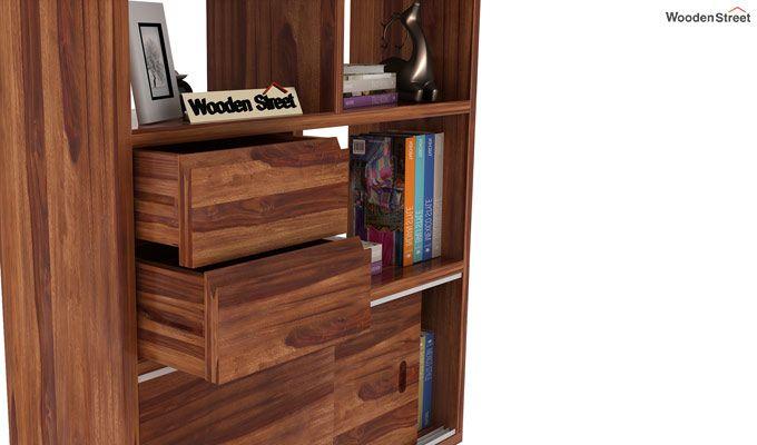 Chesny Bookshelf (Teak Finish)-5