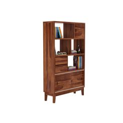 Chesny Bookshelf (Teak Finish)