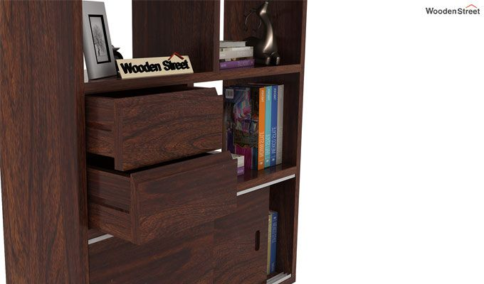 Chesny Bookshelf (Walnut Finish)-6