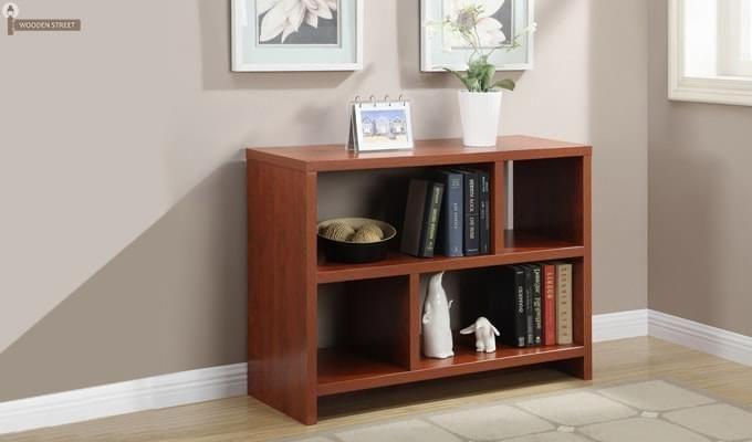 Clifford Book Shelf (Teak Finish)-1