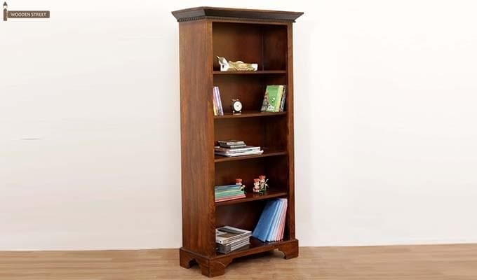 Dennis Bookcase (Walnut Finish)-1