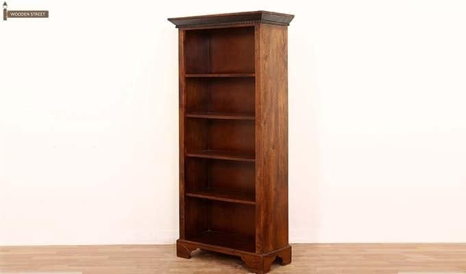 Dennis Bookcase (Walnut Finish)-3