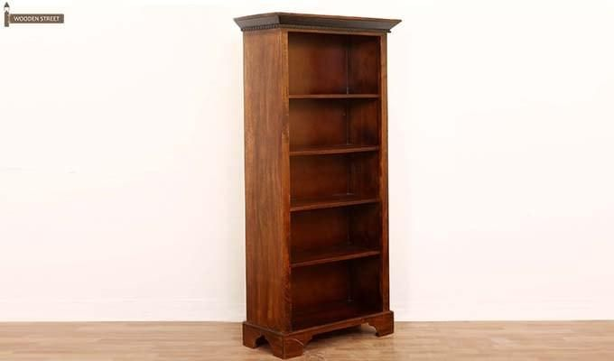 Dennis Bookcase (Walnut Finish)-6