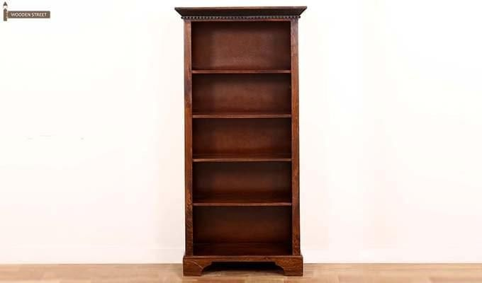 Dennis Bookcase (Walnut Finish)-7