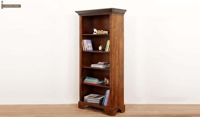 Dennis Bookcase (Walnut Finish)-8