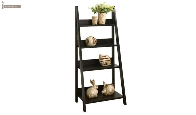 Donna Book Rack (Black Finish)-2