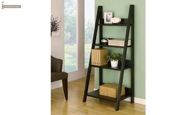 Donna Book Rack (Black Finish)-3