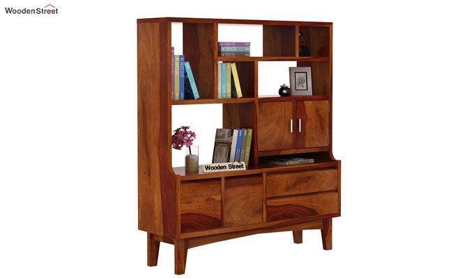 Elstre Bookshelf (Honey Finish)-2