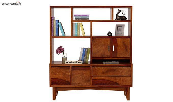 Elstre Bookshelf (Honey Finish)-3