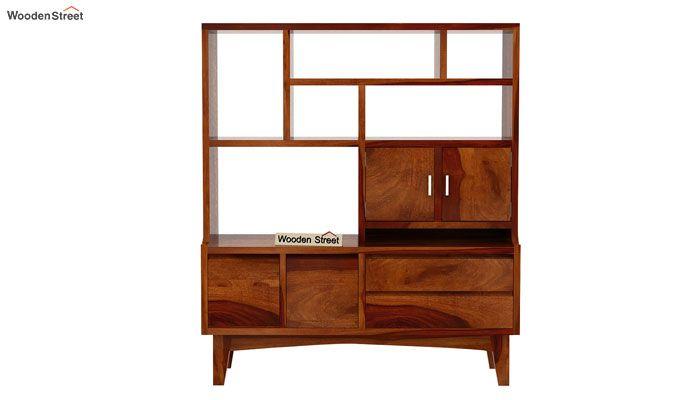 Elstre Bookshelf (Honey Finish)-5