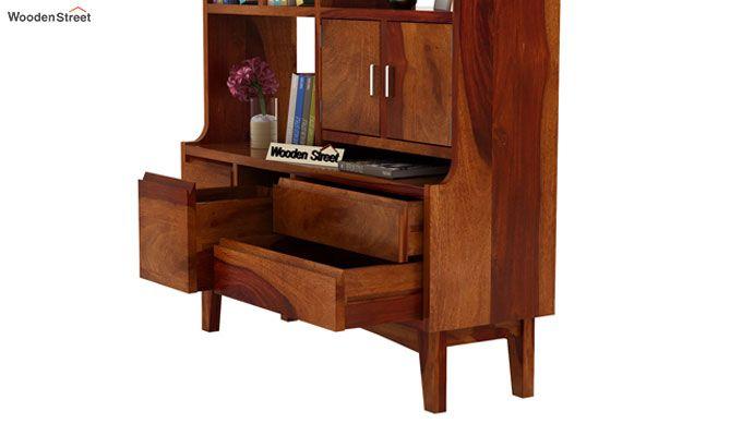 Elstre Bookshelf (Honey Finish)-6