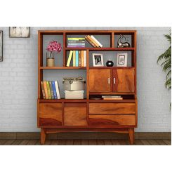 Elstre Bookshelf (Honey Finish)