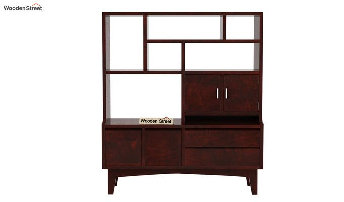 Elstre Bookshelf (Mahogany Finish)-4