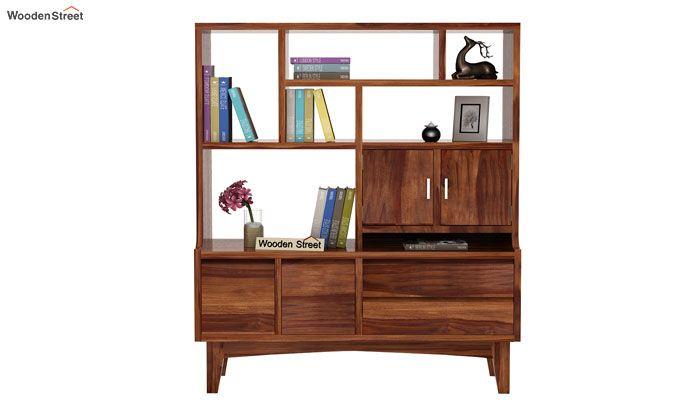 Elstre Bookshelf (Teak Finish)-2