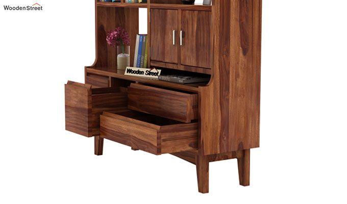 Elstre Bookshelf (Teak Finish)-5