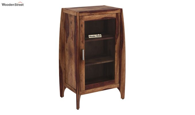 Envoy Bookshelf (Teak Finish)-2