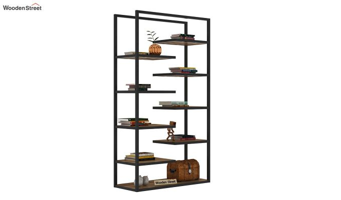 Even Loft BookShelf (Teak Finish)-2