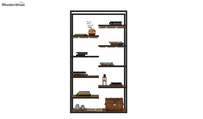 Even Loft BookShelf (Teak Finish)-3